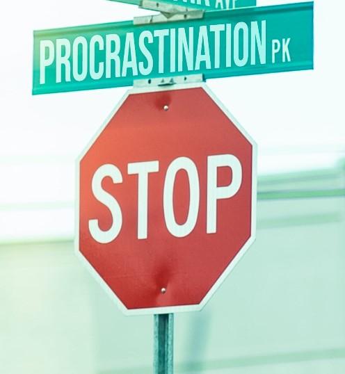 procrastiner procrastination agir décider activer